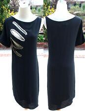 NWT MAX AZRIA $418 Black Cocktail Evening  Dress XXS