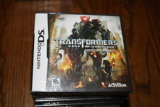 Transformers: Dark of the Moon -- Decepticons (Nintendo DS, 2011) New