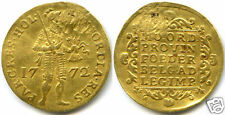 PAYS-BAS HOLLANDE DUCAT OR GOLD 1772 !!!!