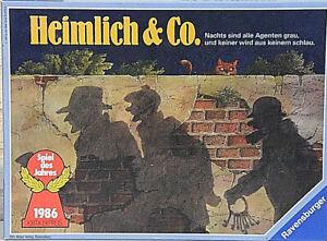 Heimlich & Co  Ravensburger Brettspiel Gesellschaftsspiel Legespiel