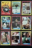 1989 Topps Back To The Future II Trading Cards Lot