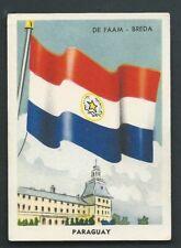 Paraguay Flag Building 1952