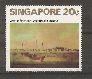 SINGAPORE 1971 ART 20c mnh
