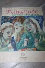 ANCIENNE REVUE PRIMEROSE N°142 BIS ALBUM SPECIAL DE MODE ENFANTINE ETE 1951