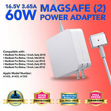 """16.5V 3.65A 60W AC Power Charger Adapter for Apple MacBook Pro 13"""" Retina A1435"""