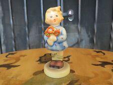Hummel Goebel Children Trio Girl With Nosegay 239/A Tmk-4 Figurine 1960s