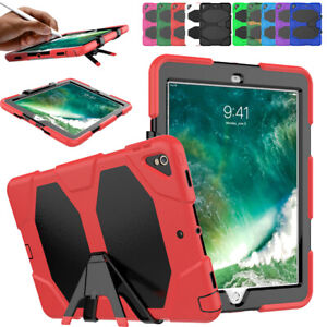For iPad 10.2'' 2019 Mini 4 3 2 Military Shockproof Heavy Duty Case Cover Stand