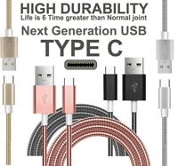 Strong Braided Metal Fast USB C 3.0 Type C Data Sync Charger Charging Cable UK
