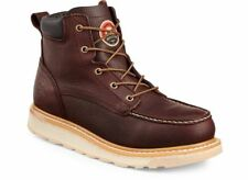 Irish Setter ASHBY Mens 83605 Brown 6-Inch Lace Up Soft Toe Moc Toe Work Boots