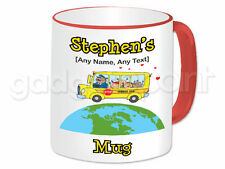 Personalised Gift School Bus Mug Cup Student Transport Bus Driver Present Fun #3