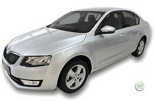 SKODA OCTAVIA mk3 2013-up SET OF FRONT WIND DEFLECTORS HEKO TINTED 2pc