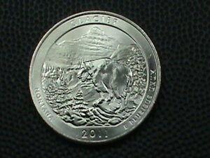 UNITED  STATES   25 Cents   2011 P   UNC   GLACIER  .