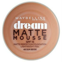 Maybelline Dream Matte MOUSSE Base Disponible en 8 tonos