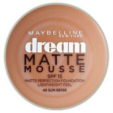 Maybelline Dream Matte mousse base 18ml various 48 Sun beis