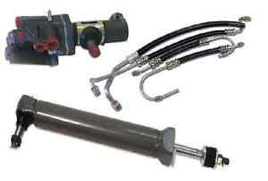 1963 - 1979 Corvette Power Steering Valve Cylinder & Hose Kit NO CORES C2 C3 NEW
