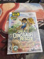 Brand New, Sealed Go, Diego, Go! Great Dinosaur Rescue (Nintendo Wii, 2008)