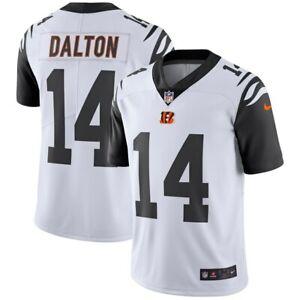 ANDY DALTON Cincinnati BENGALS Nike COLOR RUSH Throwback LIMITED Jersey Size XL