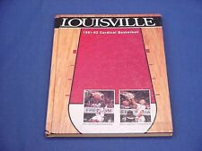 1991-92 University of Louisville Basketball Media Guide