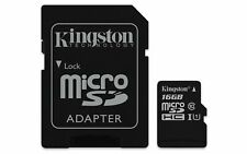 Kingston Canvas Select UHS-I microSDHC 16GB Speicherkarte (SDCS/16GB)