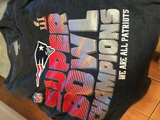New England Patriots Super Bowl  NFL  t shirt adult men's XXXL 3xl NEW