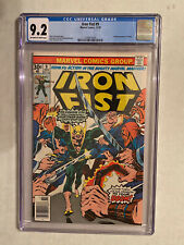 Iron Fist #9 CGC 9.2 First Full Appearance Of Chaka