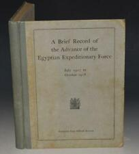 A Brief Record of the Advance of the Egyptian Expeditionary Force Campaign 1919