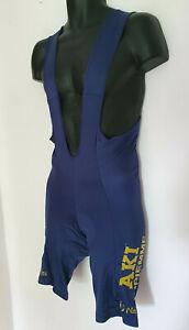 Vintage Nalini AKI Gipiemme cycling team bib shorts Lycra | Size Approx Large