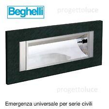 BEGHELLI 4609 LAMPADA EMERGENZA FRUTTOLUCE 6 LED UNIVERSALE TUTTE SERIE CIVILI