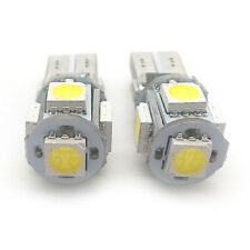 2x Green 5 SMD LED Side Light W5W T10 501 Fits Mazda Mitsubishi Toyota AMSL1013G