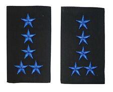Schulterschlaufen ZOLL 5 Sterne blau