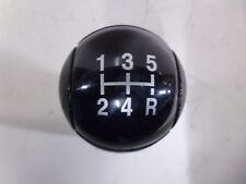 ORIGINALE FORD TRANSIT 5 velocità in Pelle Nera & Black Face GEAR KNOB 2006 - 2014