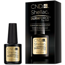 CND Shellac Duraforce Top Coat 15mL (0.5oz) - LARGE SIZE On Sale!