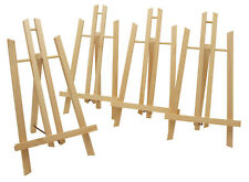 Display-/ Tischstafffelei 4er-SET je 50cm hoch, Sitzstaffelei + KIGA, Bildhalter
