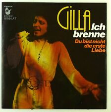 "7"" Single - Gilla - Ich Brenne - S2292 - washed & cleaned"