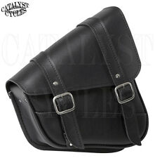 Willie & Max Swingarm Bag for Harley-Davidson Sportster Swingarm Bag - Black