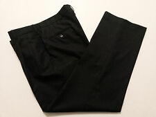 Stafford Executive Mens Pants Size 38 x 31 Charcoal Gray Wool Slacks Front Pleat