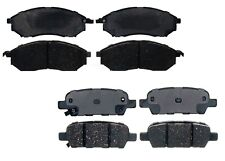 NEW Front and Rear Ceramic Brake Pad Sets Kit ACDelco For Nissan Murano 370Z G37