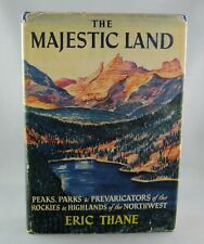 THE MAJESTIC LAND (1950) 1st Ed - SIGNED ART DOWNS - by Eric Thane (VG/VG) hc/dj