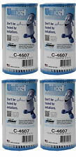 4) Unicel C-4607 Coleco Krystal Klear Intex A or C Replacement Filter Cartridges