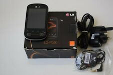 LG P350 - 3G - Unlocked - Black
