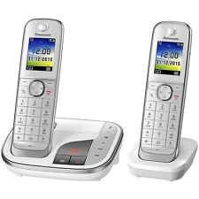Panasonic KX-TGJ322GW Weiss DECT Schnurlostelefon analog Festnetz-Telefon
