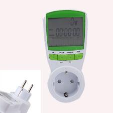 LCD Compteur d'Energie Electronique Wattmètre Electrique Numérique EU Prise