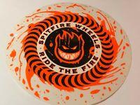 """Spitfire, Skateboard Sticker, Street Series, Large Fire Wheel, 7.5"""", #9359613"""