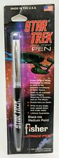 1992 Fisher STAR TREK Space Pen Vintage Ball Point Made in the USA 047609500111