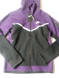 Size Small Nike Tech Fleece Mens Full Zip Hooded Jacket CU4489-503 Purple