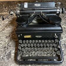 Royal Standard Model 10 Typewriter Manual KHM Series 1936 Vintage Tested Working