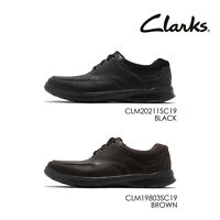 Clarks Cotrell Edge Men Casual Lace Up Lightweight Shoes Pick 1