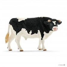 Schleich 1/20 Toy Farm Animal Plastic Holstein Bull