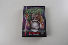 Sega Megadrive Game Dragon's Revenge boxed with manual