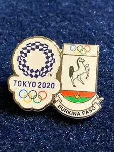 Burkina Faso Tokyo 2020 Pin Badge